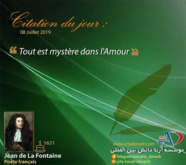 آرتا دانش بین المللی - Jean de La Fontaine