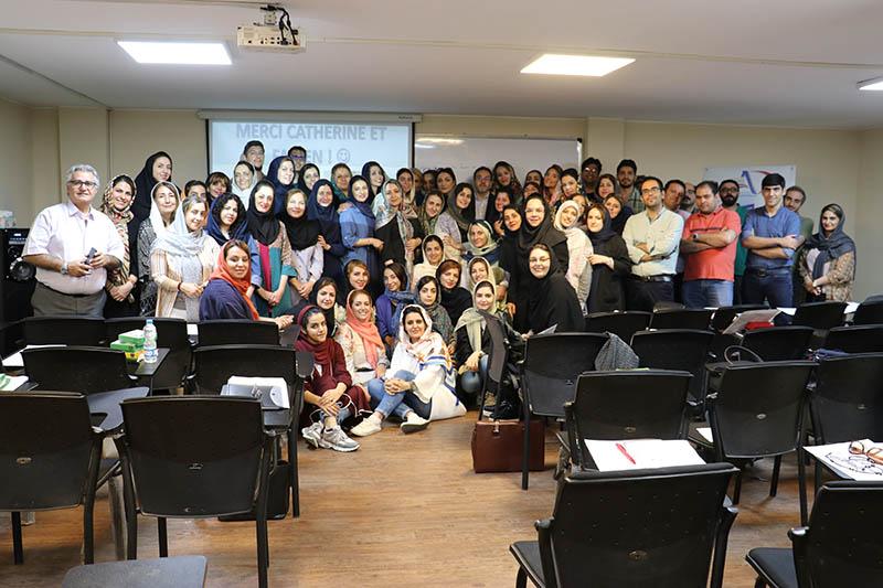 برگزاری موفق یک دوره آموزش تدریس زبان فرانسه در تهران